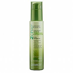 Giovanni 2 Chic Avocado & Olive Oil Ultra Moist Leave-In Conditioning & Styling Elixir, 118 ml - (Κοντίσιονερ με Αβοκάντο & Ελαιόλαδο)