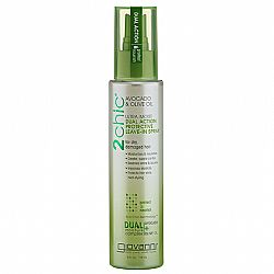 Giovanni 2 Chic Avocado & Olive Oil Ultra Moist Dual Action Protective Leave-In Spray, 118 ml - (Με Αβοκάντο & Ελαιόλαδο)
