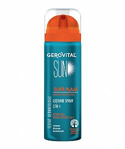 Gerovital Sun After Sun Spray Lotion 3 in 1, 150 ml