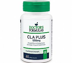 Doctor's Formulas Cla Plus 1250mg, 60 μαλακές κάψουλες