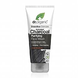 Dr. Organic Charcoal Purifying Face Wash, 200 ml
