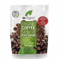 Dr. Organic Coffee Skinny Body Scrub with Fresh Mint Απολεπιστικό Σώματος, 200ml