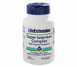 Life Extension Super Selenium, 100 κάψουλες