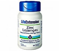 Life Extension Zinc Lozenges 18.75mg, 60 παστίλιες