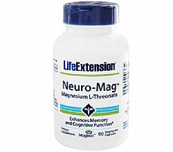 Life Extension Neuro Mag Magnesium L Threonate, 90 κάψουλες