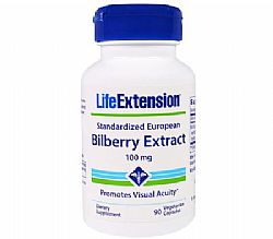 Life Extension Bilberry Extract, 90 κάψουλες
