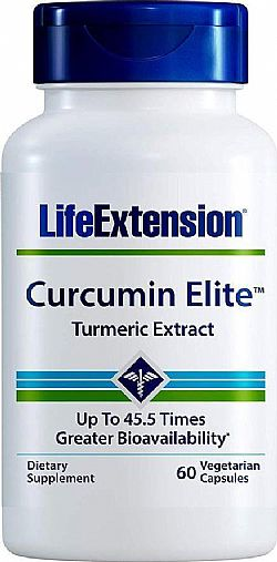 Life Extension Curcumin Elite Turmeric Extract 500mg, 60 κάψουλες