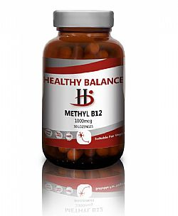 Healthy Balance Methyl B12 1000mcg, 100 Lozenges
