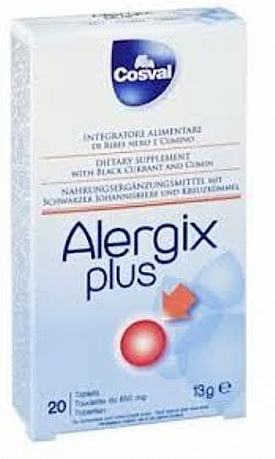 Cosval Allergix plus, 20 ταμπλέτες