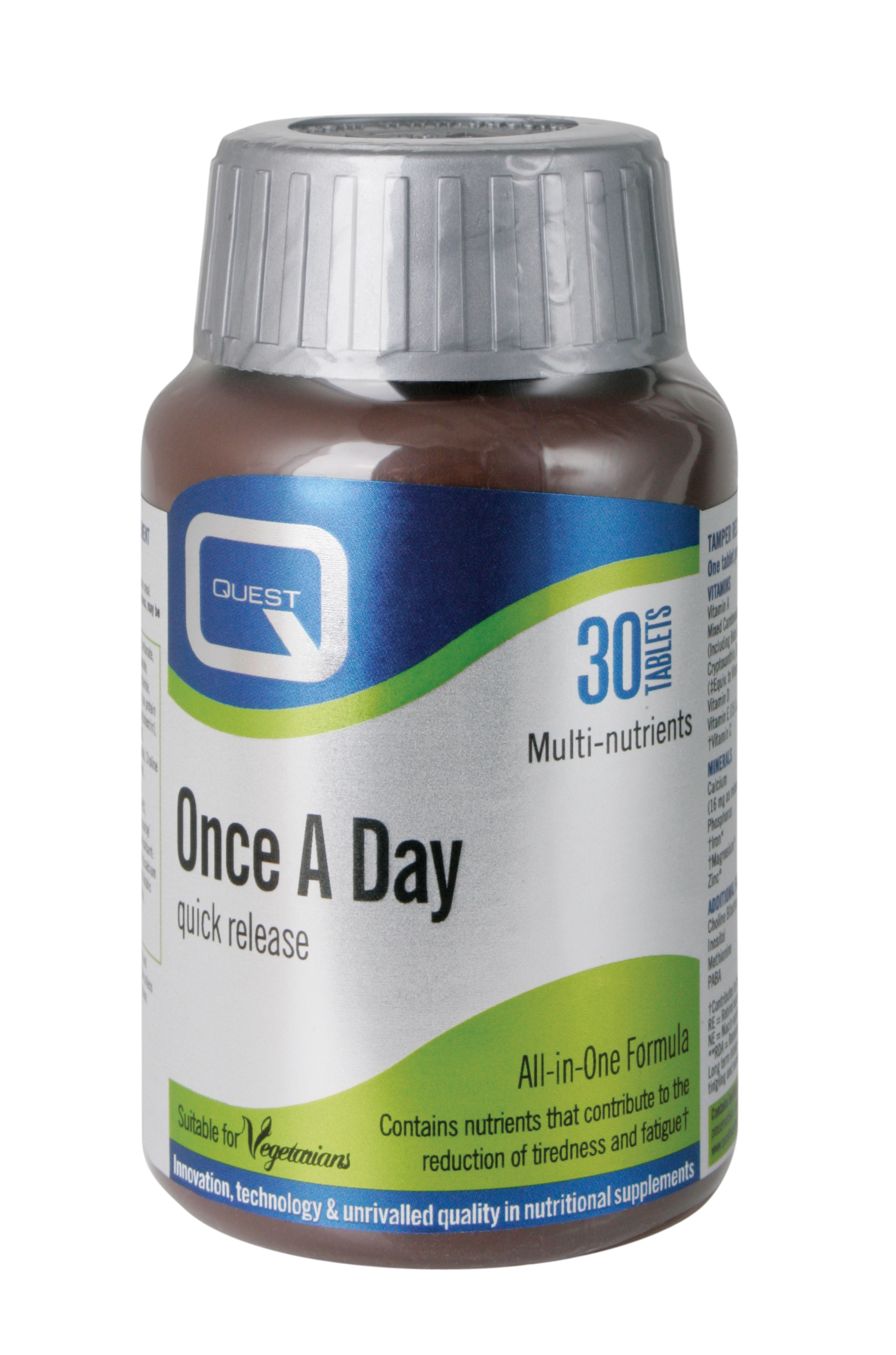 Quest Once a Day quick release, 30 ταμπλέτες
