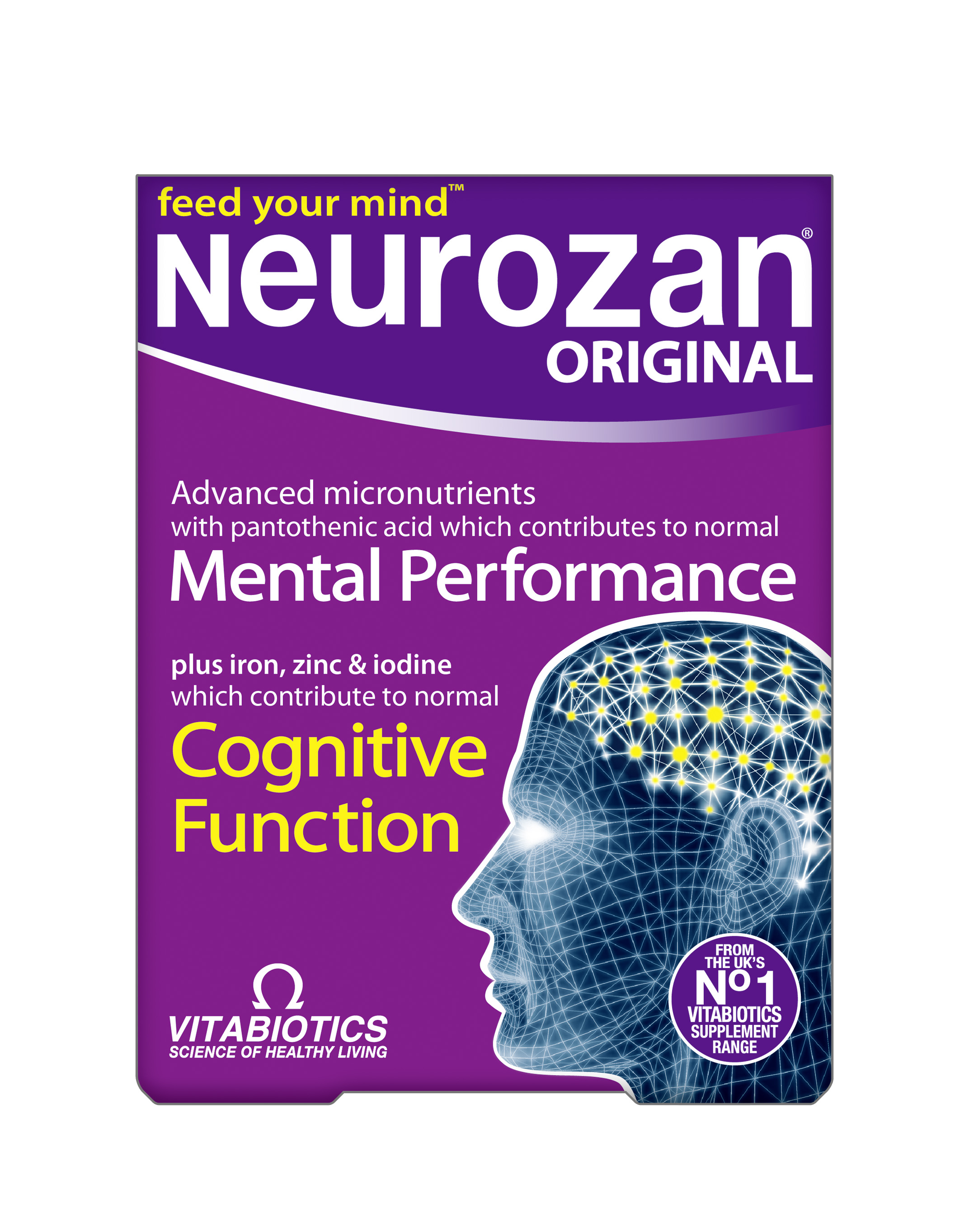 Vitabiotics Neurozan, 30 ταμπλέτες