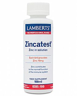 Lamberts Zincatest, 100ml