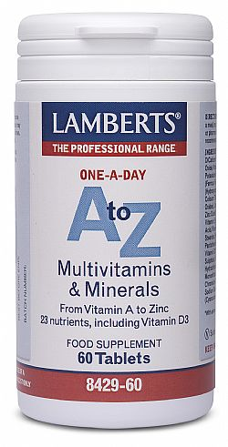 Lamberts A to Z Multi Vitamins, 60 ταμπλέτες