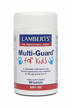 Lamberts Multi Guard For Kids, 100 ταμπλέτες