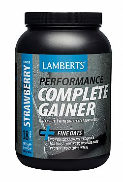 Lamberts Performance Complete Gainer Protein Strawberry (γεύση Φράουλα), 1816gr