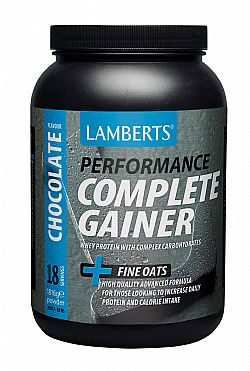 Lamberts Performance Complete Gainer Protein Chocolate (γεύση Σοκολάτα), 1816gr