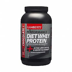 Lamberts Performance Diet Whey Protein chocolate (γεύση Σοκολάτα), 1000gr