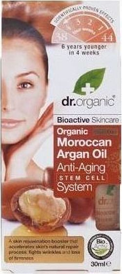 Dr. Organic Moroccan Argan Oil Anti-Aging Stem Cell System, 30ml