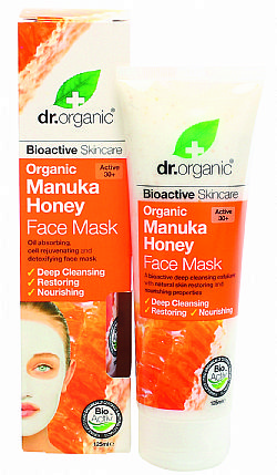 Dr. Organic Manuka Honey Face Mask, 125ml