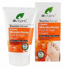 Dr. Organic Manuka Honey Foot and Heel Cream, 125ml