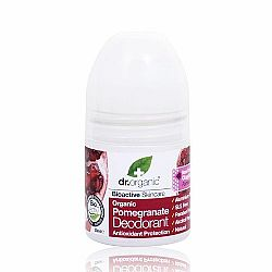 Dr. Organic Pomegranate Deodorant, 50ml