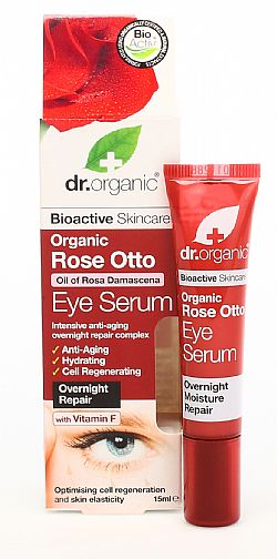 Dr. Organic Rose Otto Eye Serum, 15ml