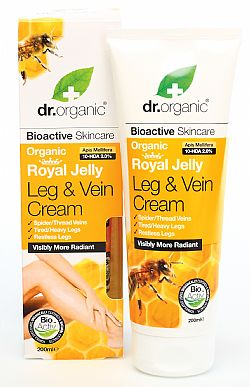 Dr. Organic Royal Jelly Leg & Vein Cream, 200ml