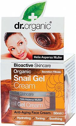 Dr. Organic Snail Gel Face cream, 50 ml